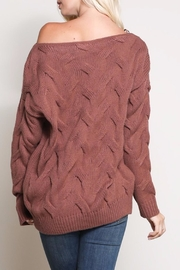 Apricot Lane Morning Coffee Sweater - Side cropped