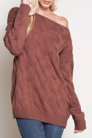 Apricot Lane Morning Coffee Sweater - Front cropped