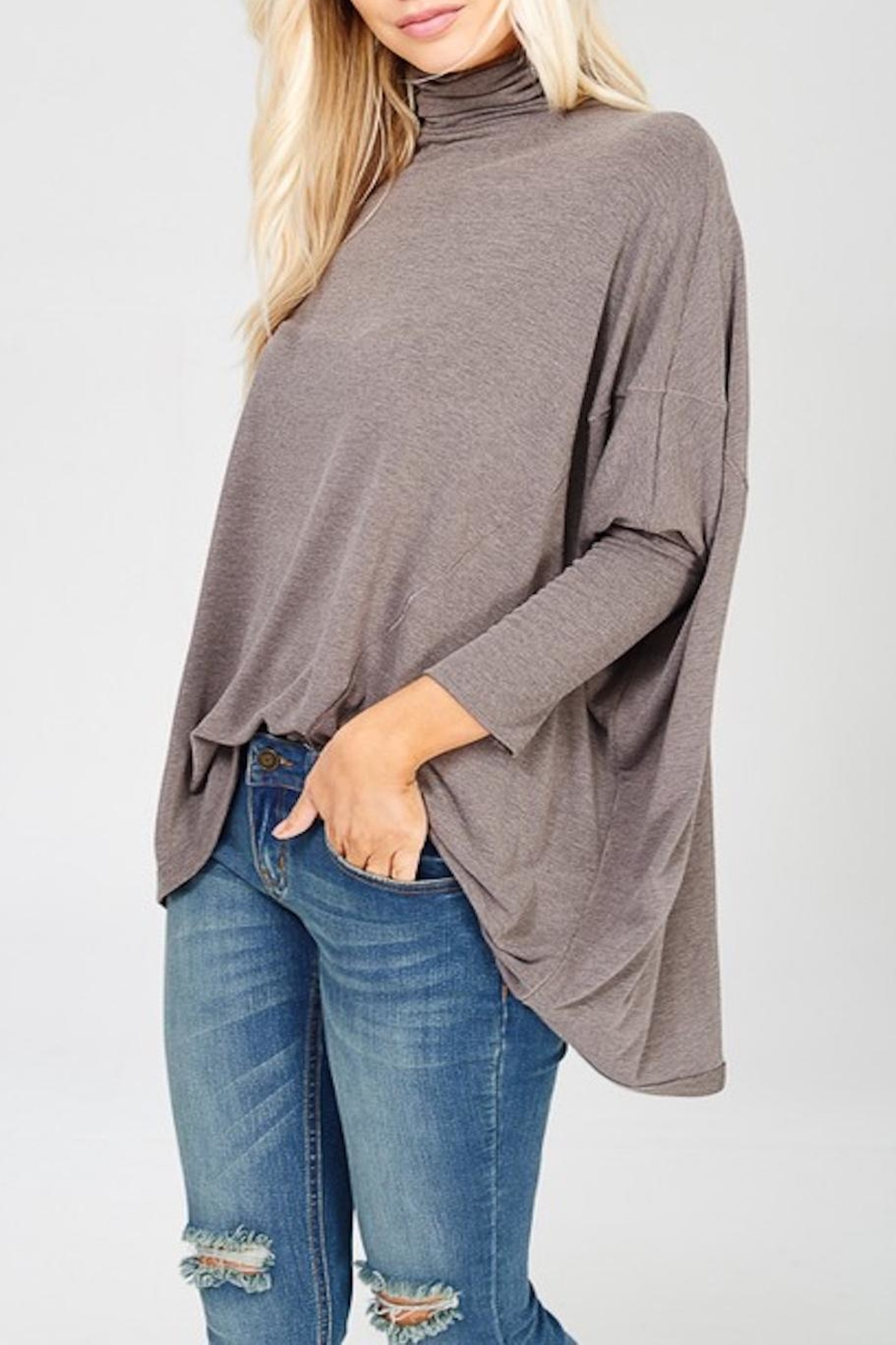 Apricot Lane Mud Pie Poncho - Front Full Image