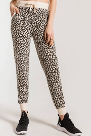 Apricot Lane Multi Leopard Jogger - Product Mini Image