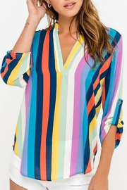 Apricot Lane Multi Striped Top - Product Mini Image