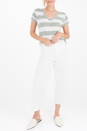 Apricot Lane Naples Striped Tee - Front cropped