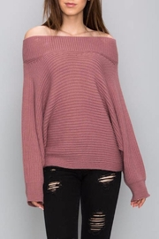 Apricot Lane Off Shoulder Sweater - Product Mini Image