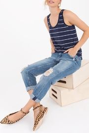 Apricot Lane Pencil Stripe Tank - Product Mini Image