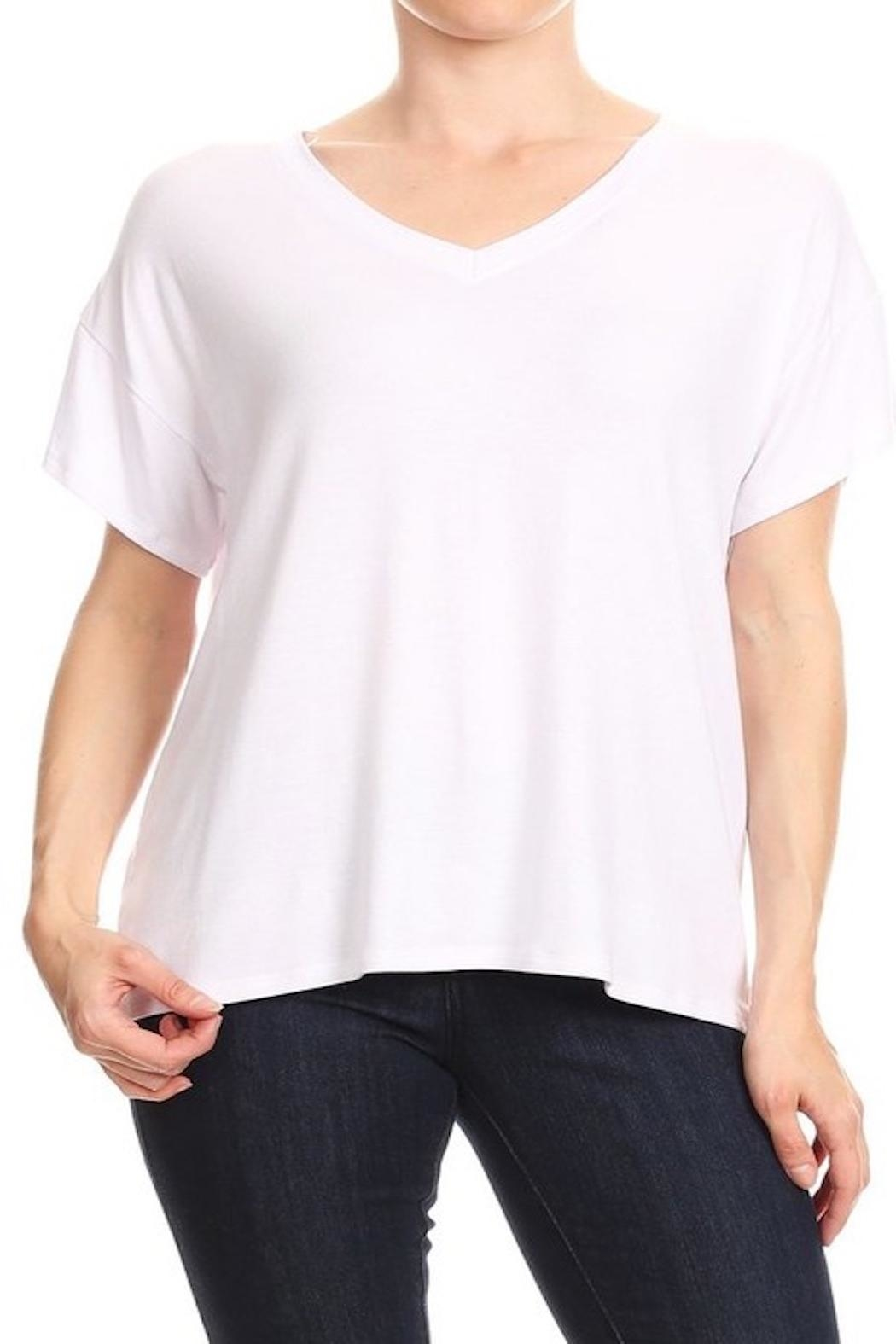 Apricot Lane Perfect Tee - Front Cropped Image