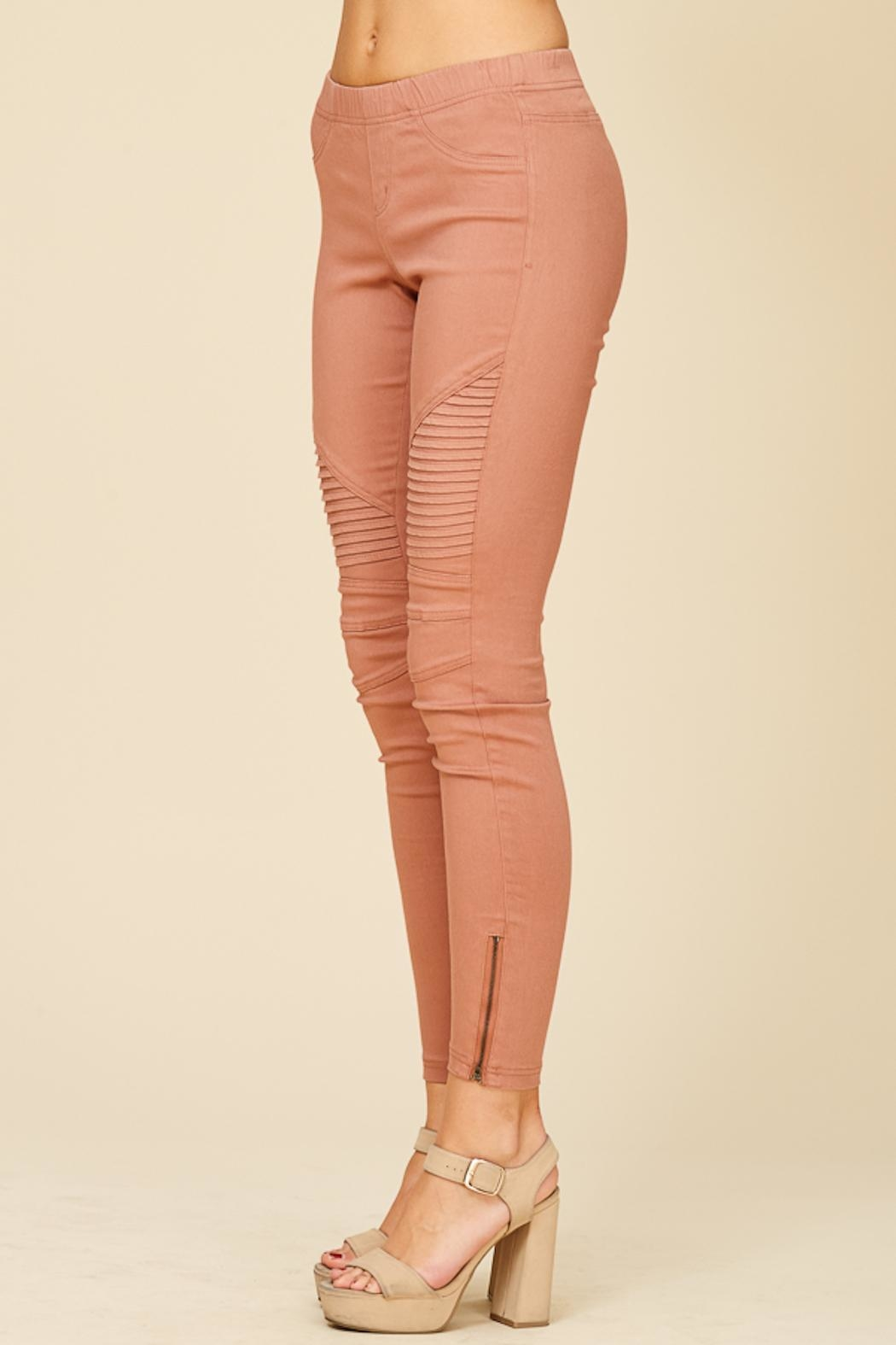 Apricot Lane Pleated Jegging - Front Full Image