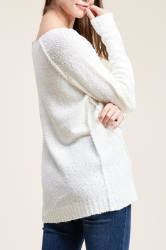 Apricot Lane Raglan Sweater-Ivory - Alternate List Image