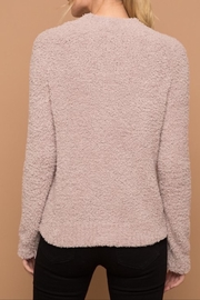Apricot Lane Rose Fizz Cardigan - Side cropped