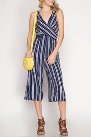 Apricot Lane Sail Away Jumpsuit - Front cropped
