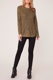 Apricot Lane Scoop Back Sweater - Front cropped