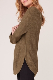 Apricot Lane Scoop Back Sweater - Front full body