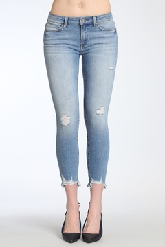 Apricot Lane Shark Bite Denim Jeans - Product List Image