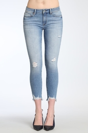 Apricot Lane Shark Bite Denim Jeans - Product Mini Image