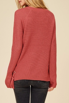 Apricot Lane Side Lace-Up Sweater - Alternate List Image