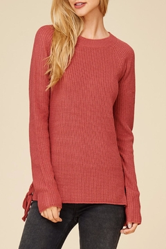Apricot Lane Side Lace-Up Sweater - Product List Image