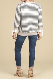 Apricot Lane Side Tie Sweater - Side cropped
