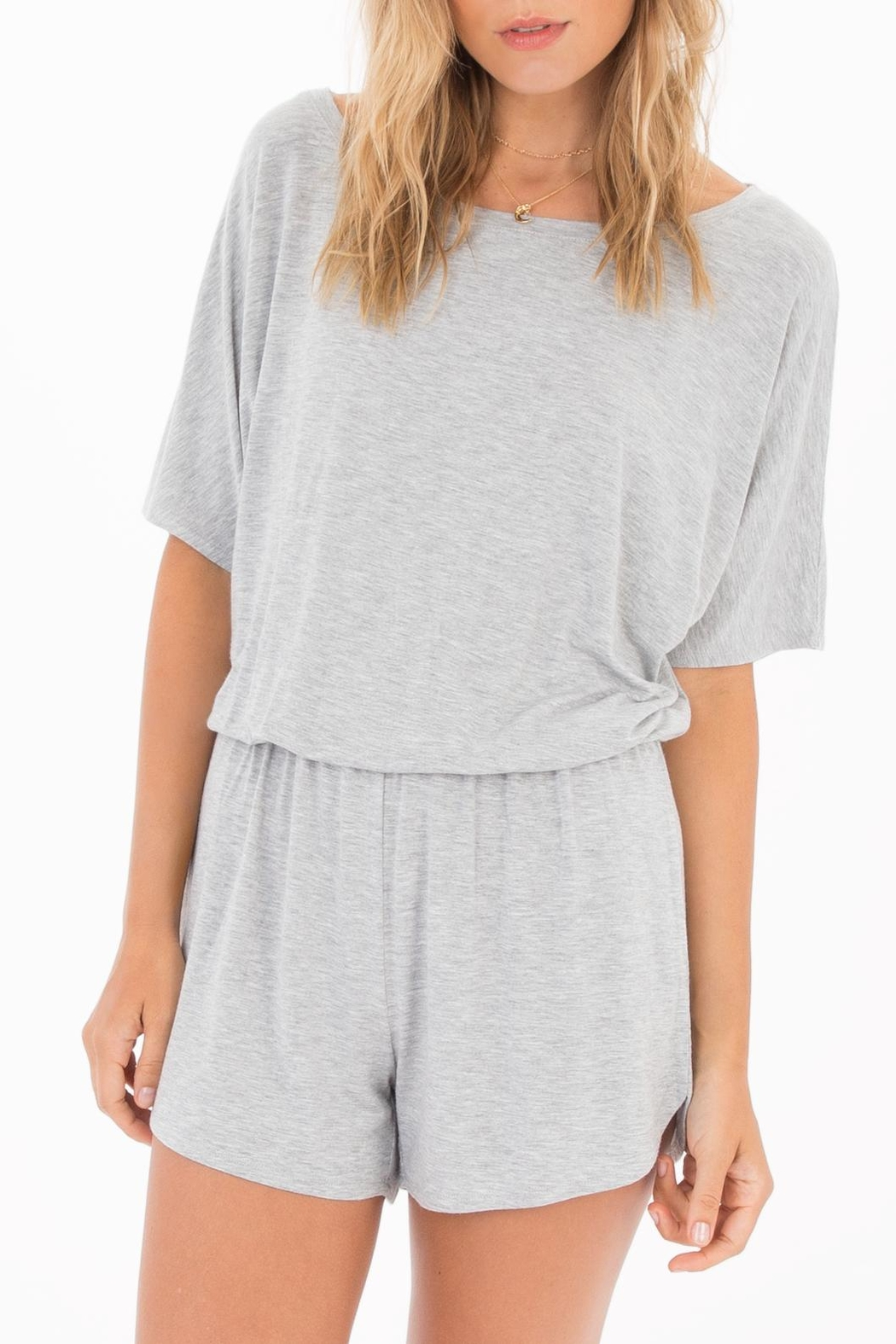 Apricot Lane Emi Jersey Romper - Front Cropped Image