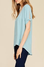 Apricot Lane Smooth Transition Top - Front full body