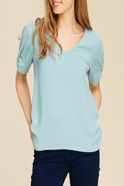 Apricot Lane Smooth Transition Top - Front cropped