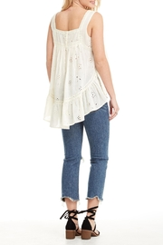 Apricot Lane Spring Breeze Top - Front full body