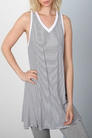 Apricot Lane Stripe Dress - Front full body