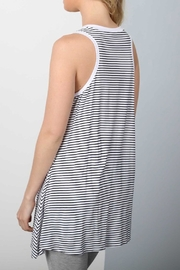 Apricot Lane Stripe Dress - Side cropped