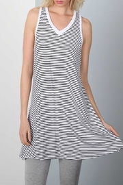 Apricot Lane Stripe Dress - Front cropped