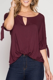 Apricot Lane Style Me Top - Front cropped