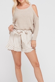 Apricot Lane Sunday Date - Taupe - Front cropped