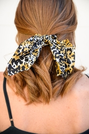 Apricot Lane Sweet Little Leopard Bow - Product Mini Image