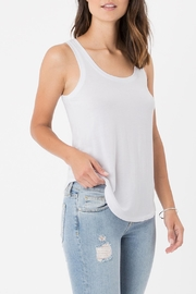 Apricot Lane The Jersey Tank-White - Product Mini Image