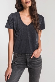 Apricot Lane The Skimmer Tee-Black - Product Mini Image