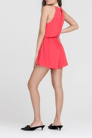 Apricot Lane Tomato Red Romper - Side cropped