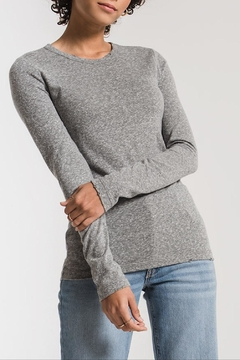 Apricot Lane Triblend Long Sleeve-H.Grey - Product List Image