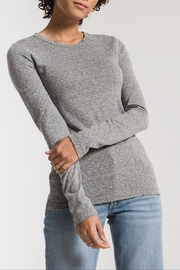 Apricot Lane Triblend Long Sleeve-H.Grey - Product Mini Image