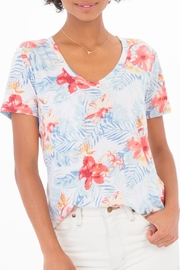 Apricot Lane Tropical Pocket Tee - Product Mini Image