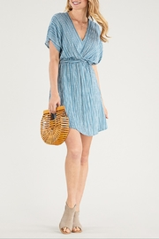 Apricot Lane Twist Tie Dress - Product Mini Image