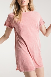 Apricot Lane Washed T-Shirt Dress - Front cropped