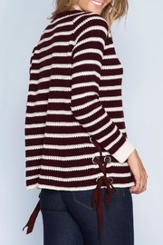 Apricot Lane Wine Not Sweater - Side cropped