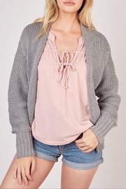 Apricot Lane You Basic Cardi-H.Grey - Product Mini Image