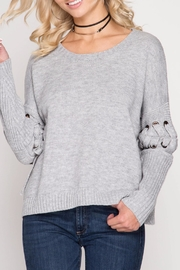 Apricot Lane St. Cloud All Tied Sweater - Product Mini Image