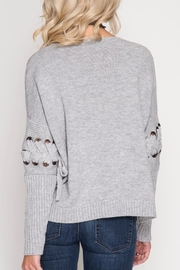 Apricot Lane St. Cloud All Tied Sweater - Front full body