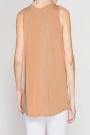 Apricot Lane St. Cloud Apricot Knot Top - Front full body
