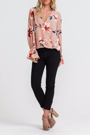 Apricot Lane St. Cloud Blushing Beauty Top - Front cropped