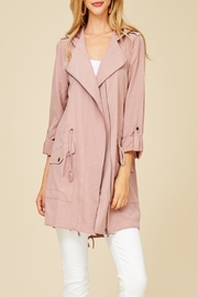 Apricot Lane St. Cloud Blushing For You Coat - Front full body