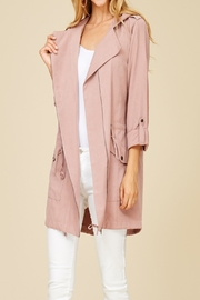 Apricot Lane St. Cloud Blushing For You Coat - Front cropped