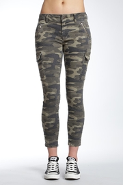 Apricot Lane St. Cloud Camo Cropped Pant - Front cropped