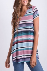 Apricot Lane St. Cloud Striped Top - Product Mini Image