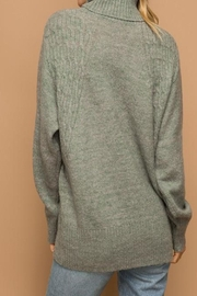 Apricot Lane St. Cloud Chunky Roll Sweater - Front full body