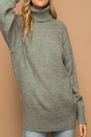 Apricot Lane St. Cloud Chunky Roll Sweater - Front cropped